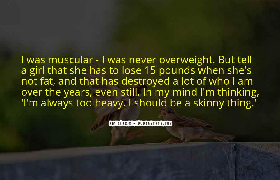 Overweight Girl Quotes #843544