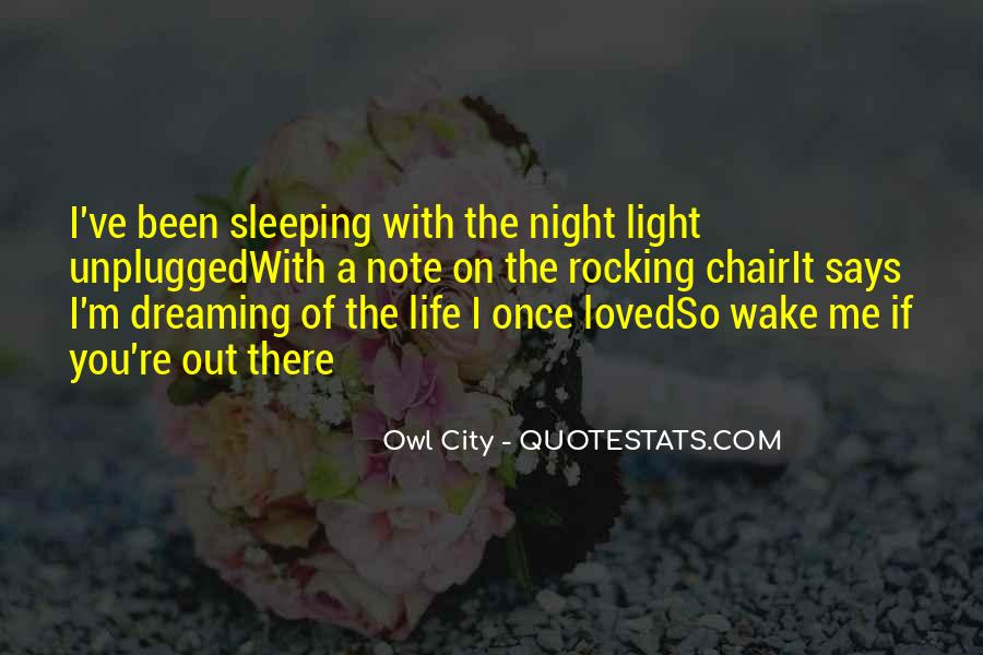 Owl City Life Quotes #754632