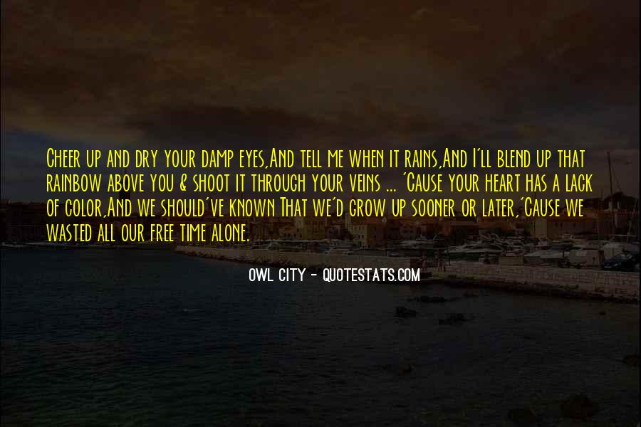 Owl City Love Quotes #1470485