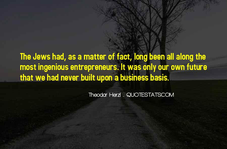 Own A Business Quotes #356010