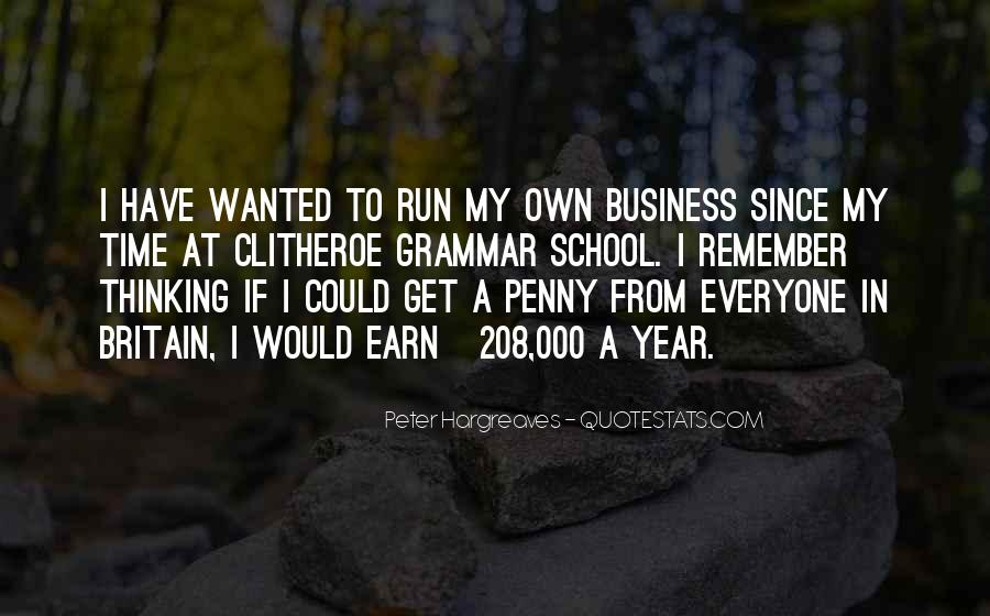 Own A Business Quotes #376279