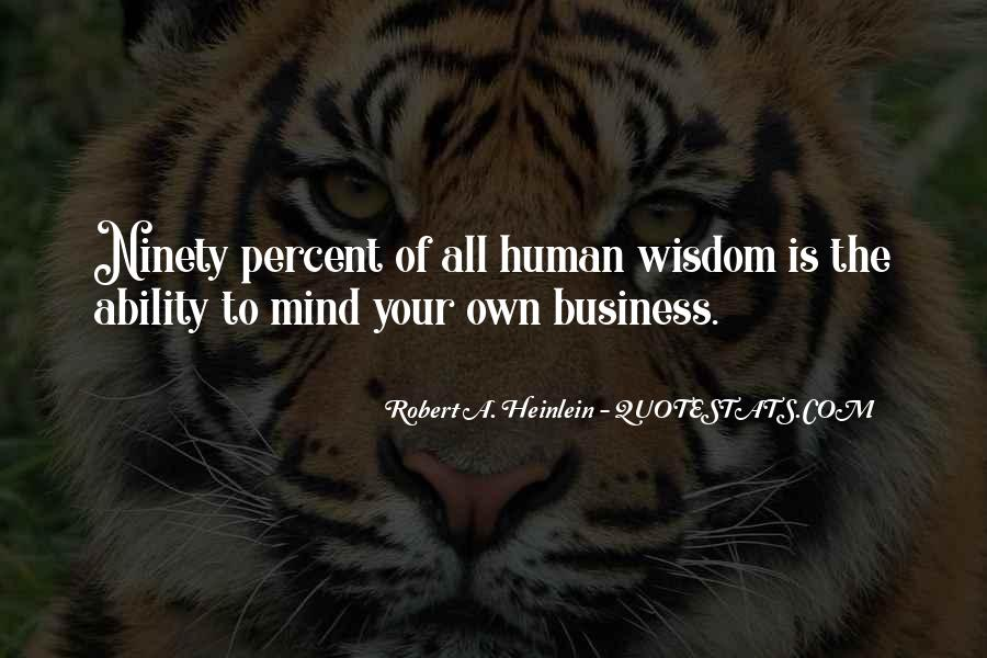 Own A Business Quotes #431517