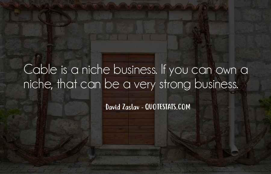 Own A Business Quotes #455159