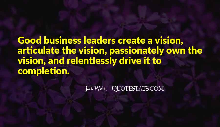 Own A Business Quotes #463428