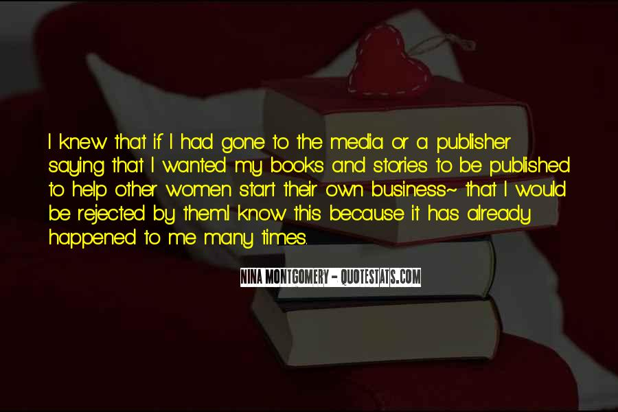 Own A Business Quotes #492972