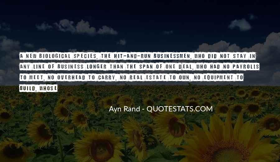 Own A Business Quotes #517343