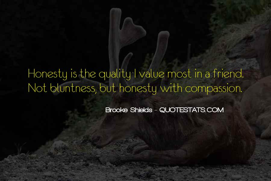 Quotes About Bluntness #346375