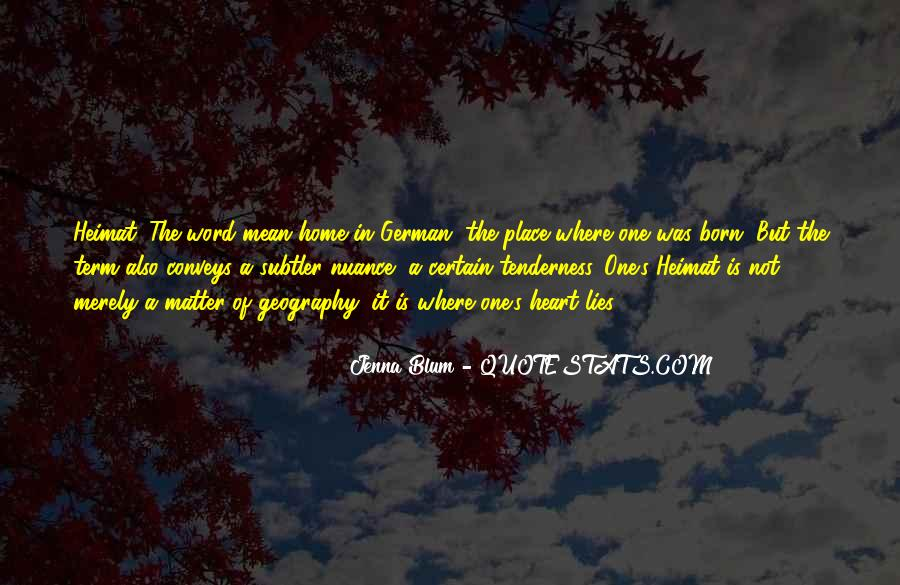 Quotes About Blum #632814