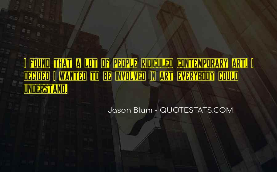 Quotes About Blum #673160