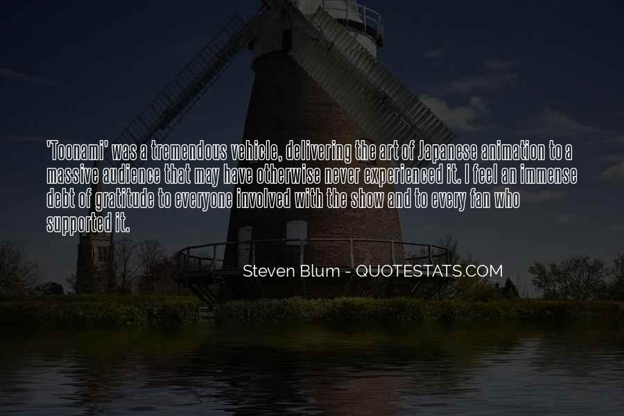 Quotes About Blum #79951
