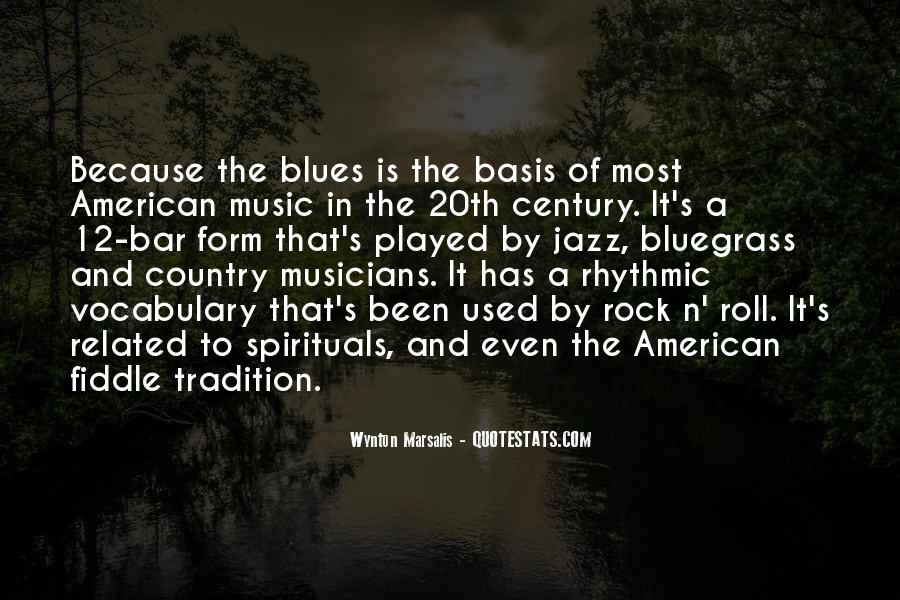 Quotes About Bluegrass Music #1017819