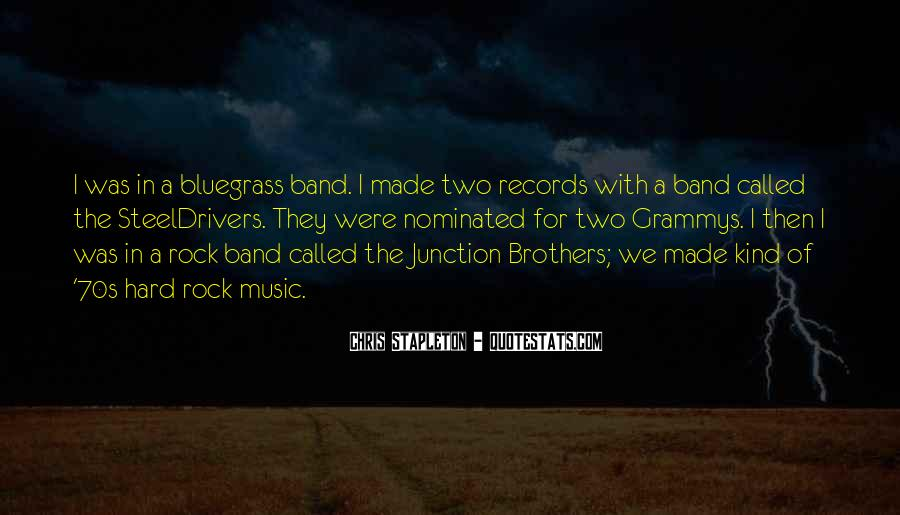 Quotes About Bluegrass Music #1097072
