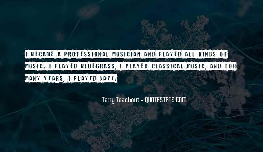Quotes About Bluegrass Music #1459385