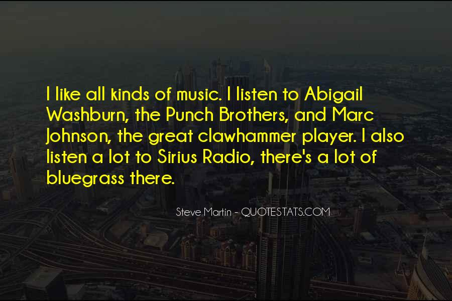 Quotes About Bluegrass Music #195284