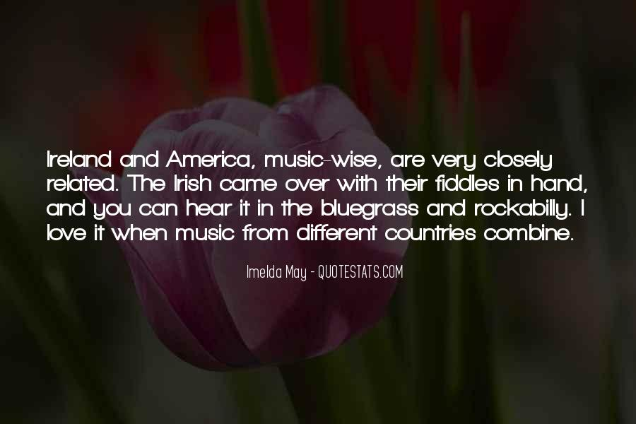 Quotes About Bluegrass Music #561239