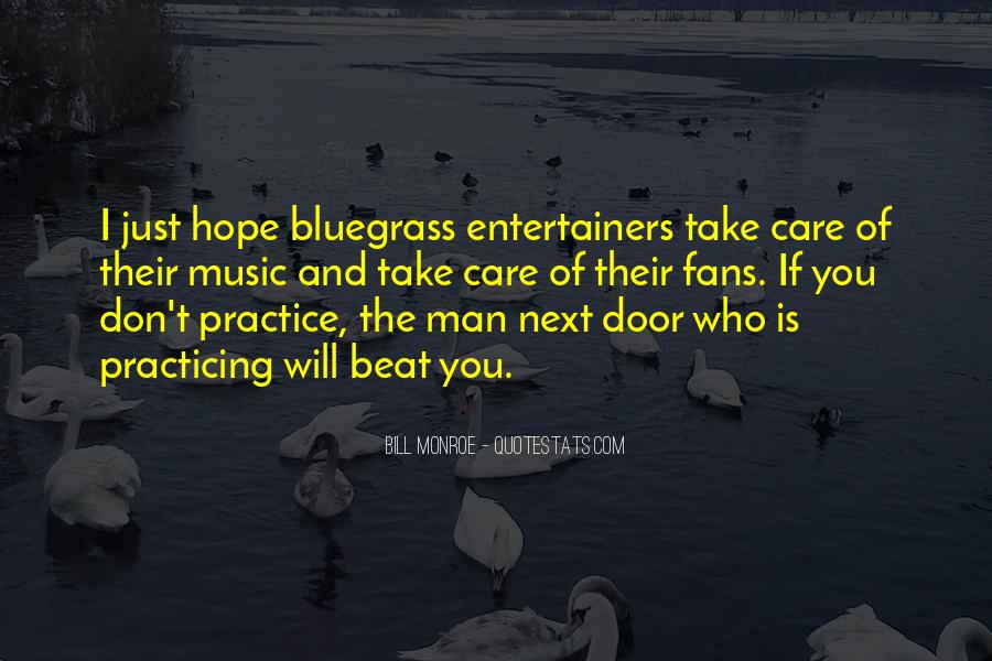 Quotes About Bluegrass Music #839156
