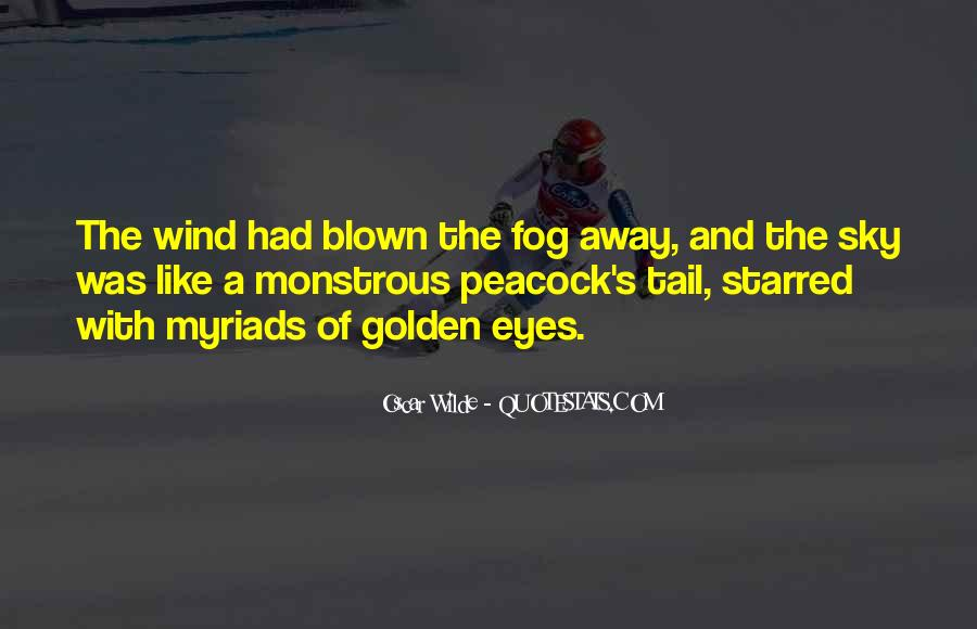 Quotes About Blown #155197