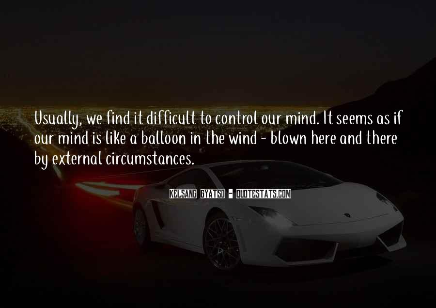 Quotes About Blown #172214