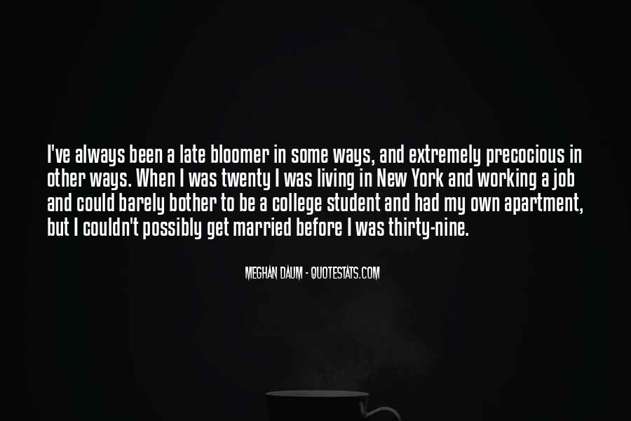 Quotes About Bloomer #419144