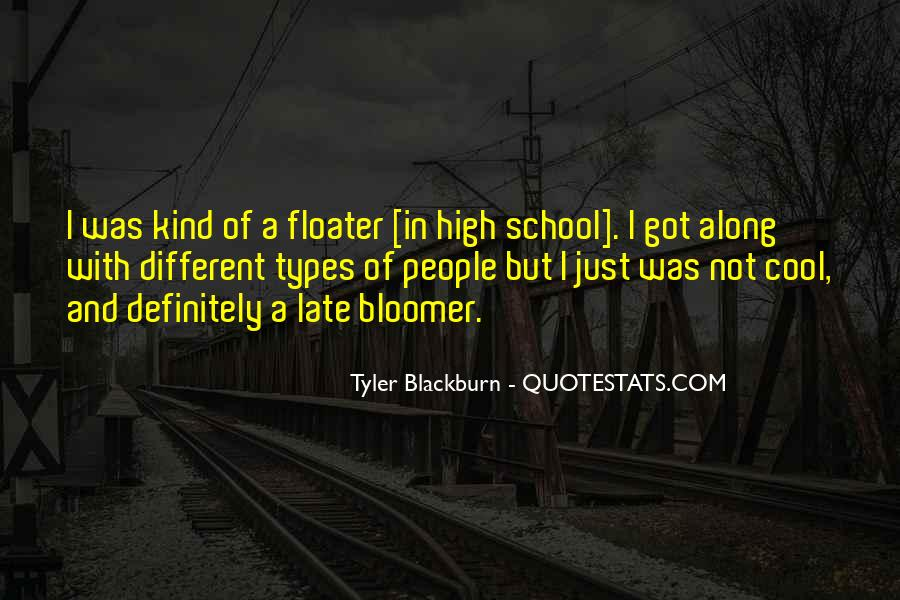Quotes About Bloomer #806513