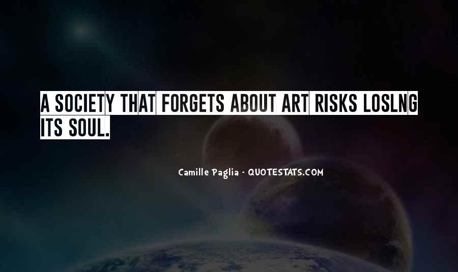 Paglia Camille Quotes #115137