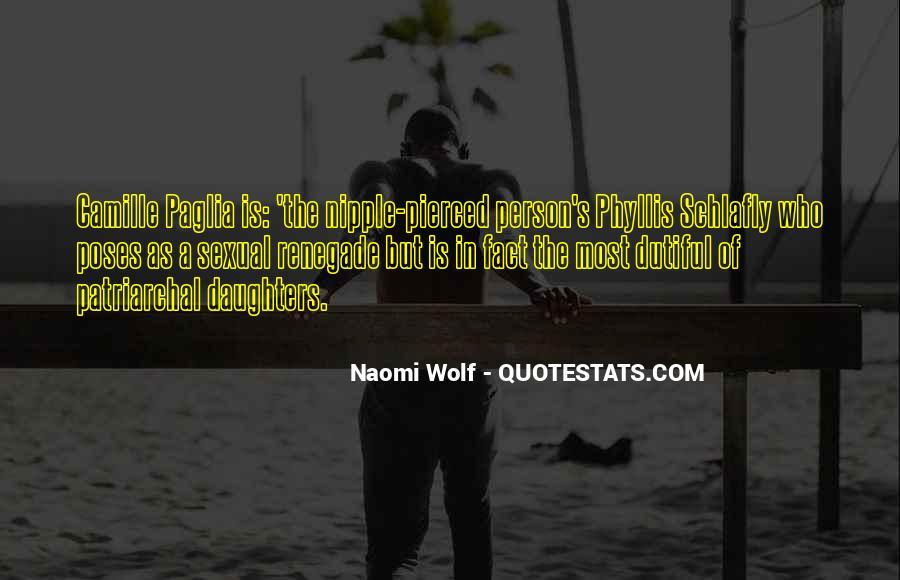 Paglia Camille Quotes #147674