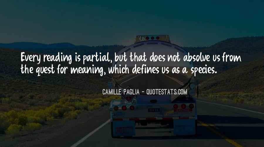 Paglia Camille Quotes #187793