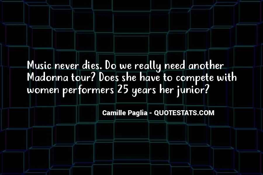Paglia Camille Quotes #212939