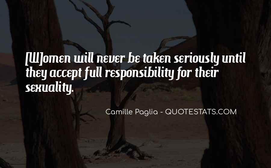 Paglia Camille Quotes #286325