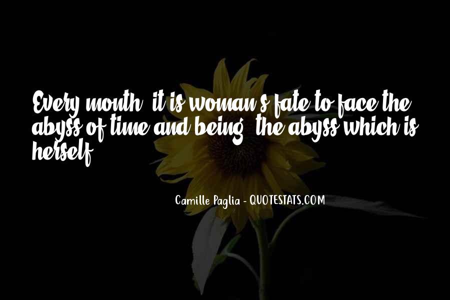 Paglia Camille Quotes #288707