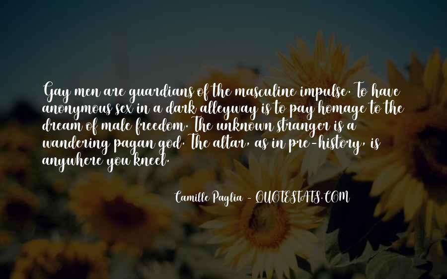 Paglia Camille Quotes #304581