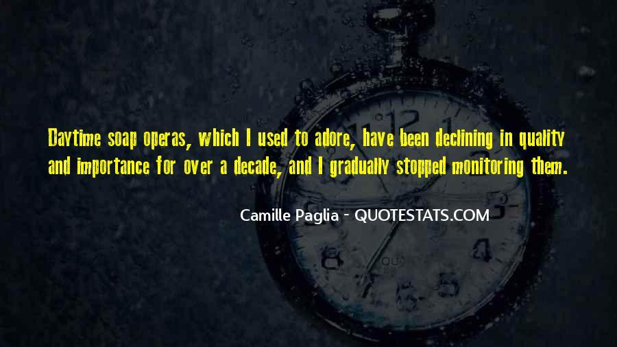 Paglia Camille Quotes #315522