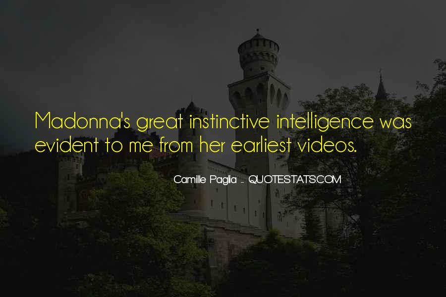 Paglia Camille Quotes #423672