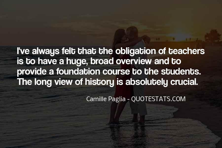 Paglia Camille Quotes #437881