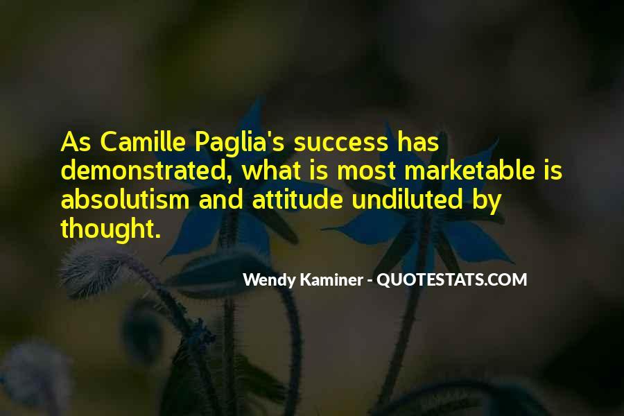 Paglia Camille Quotes #439504