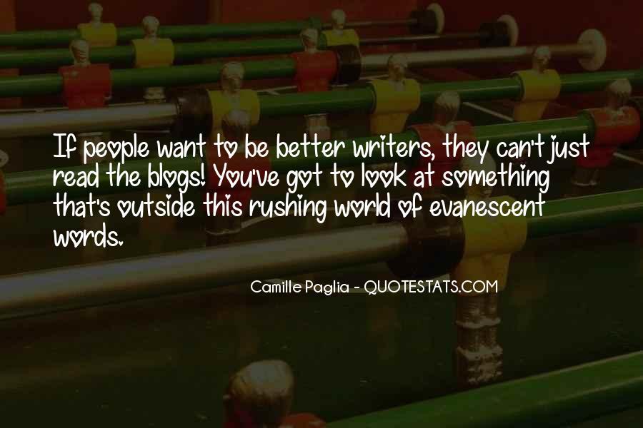 Paglia Camille Quotes #451051
