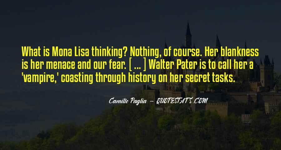 Paglia Camille Quotes #461724