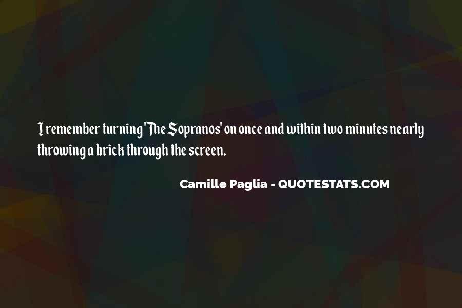 Paglia Camille Quotes #463379