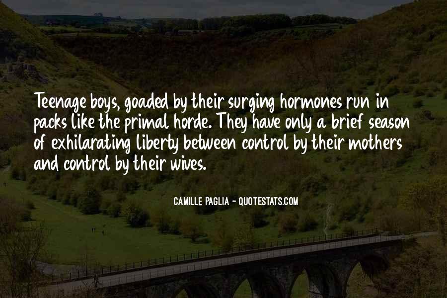 Paglia Camille Quotes #515377