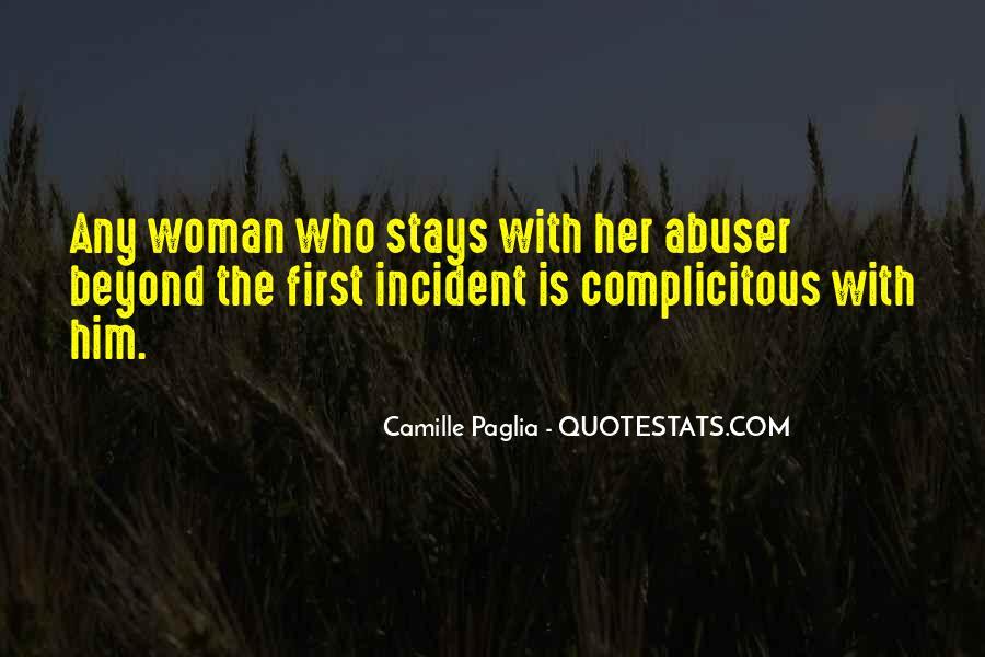 Paglia Camille Quotes #519706
