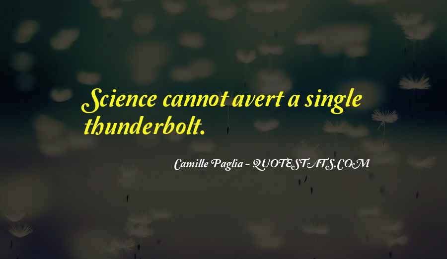 Paglia Camille Quotes #544682