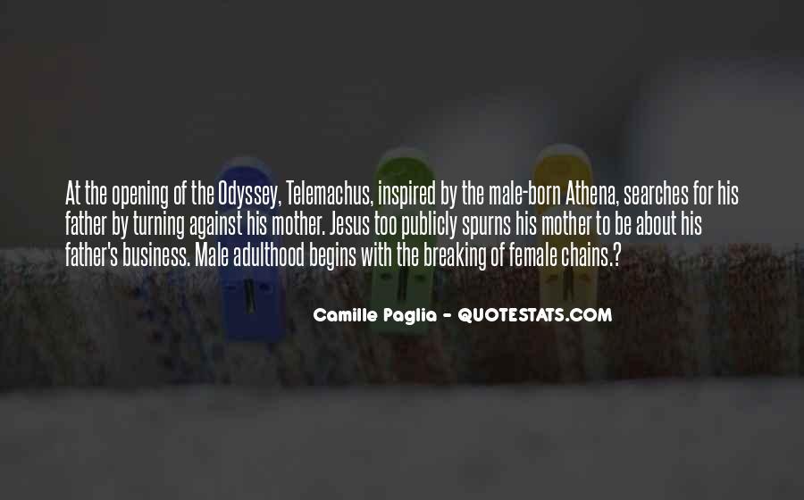 Paglia Camille Quotes #75437