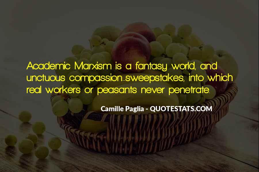 Paglia Camille Quotes #75914