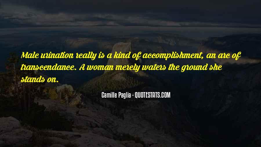 Paglia Camille Quotes #76852