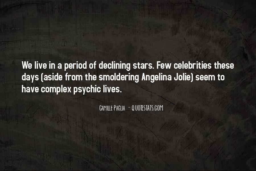 Paglia Camille Quotes #80501