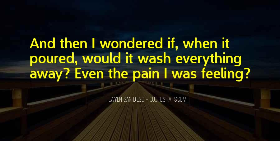Pain Away Quotes #242205