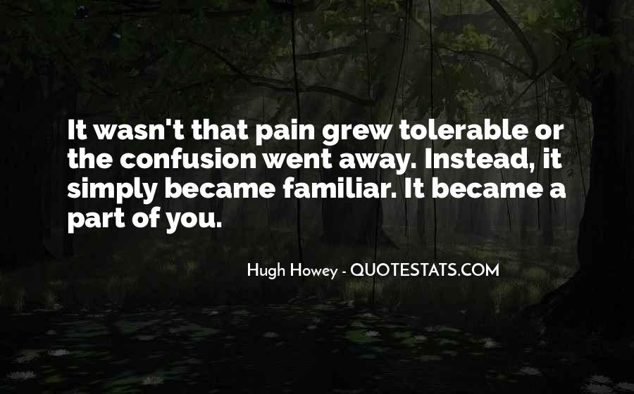 Pain Away Quotes #333324