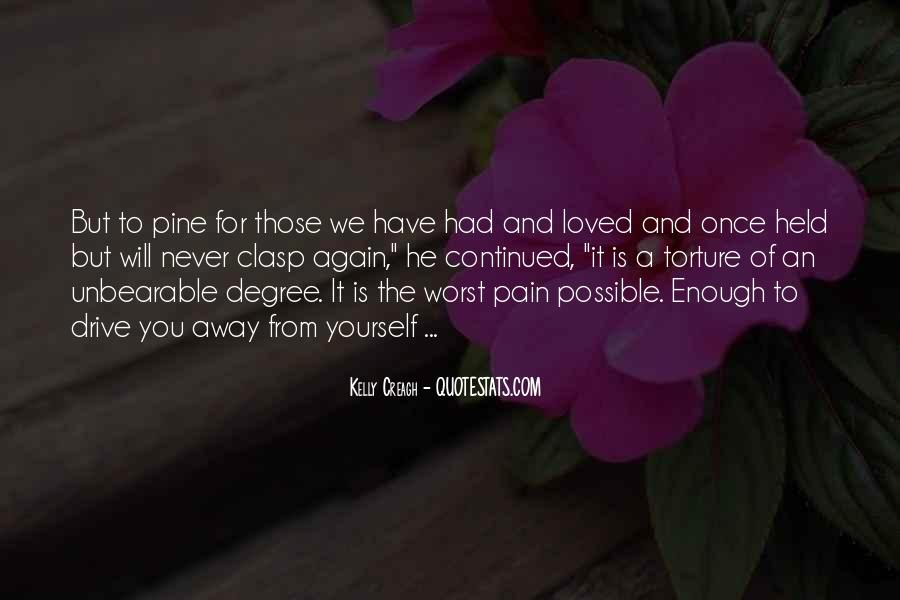 Pain Away Quotes #81728