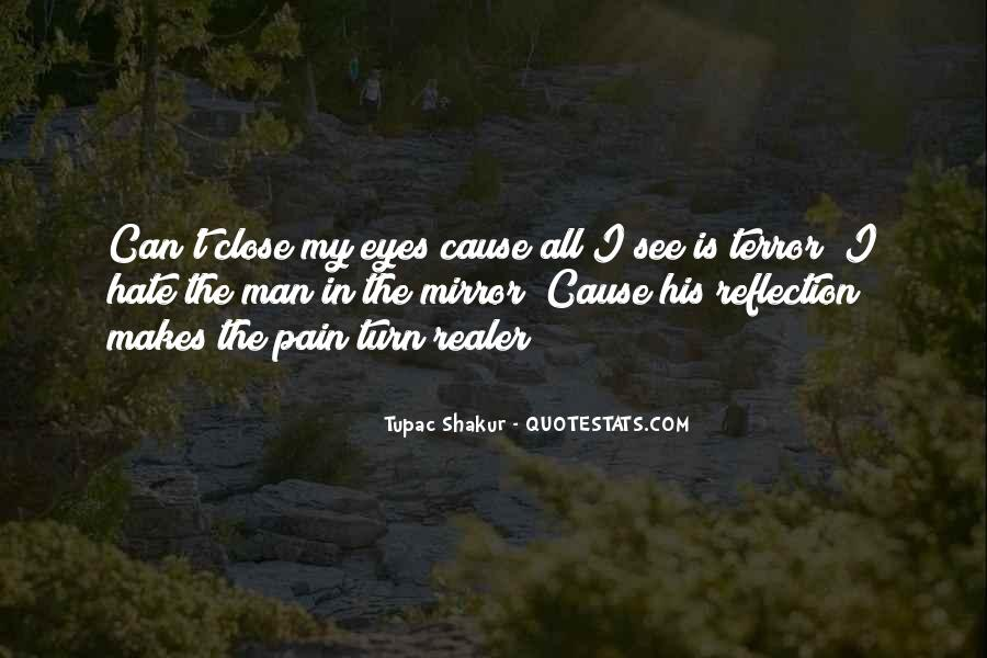 Pain In His Eyes Quotes #1704309