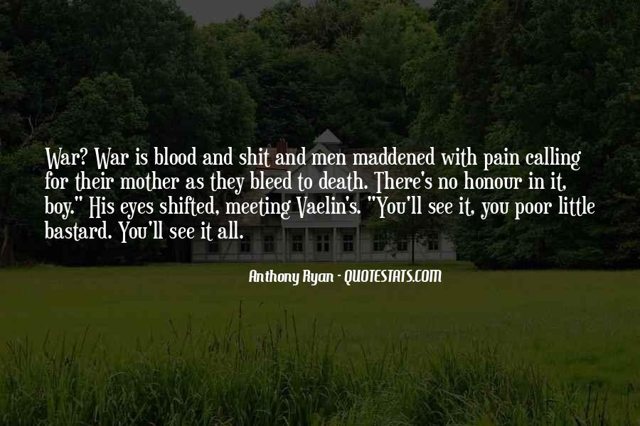 Pain In His Eyes Quotes #574803